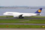 アイスコーヒーさんが、羽田空港で撮影したルフトハンザドイツ航空 747-830の航空フォト(写真)