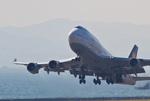 しゅあさんが、関西国際空港で撮影したルフトハンザドイツ航空 747-430の航空フォト(写真)