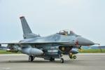 パンダさんが、三沢飛行場で撮影したアメリカ空軍 F-16CM-50-CF Fighting Falconの航空フォト(写真)