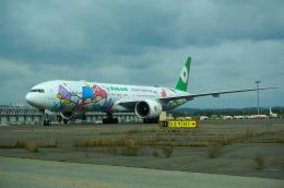 yuu@HKD/RJCHさんが、新千歳空港で撮影したエバー航空 777-36N/ERの航空フォト(飛行機 写真・画像)