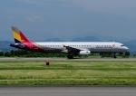 じーく。さんが、静岡空港で撮影したアシアナ航空 A321-231の航空フォト(飛行機 写真・画像)