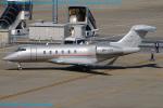 Chofu Spotter Ariaさんが、羽田空港で撮影したビスタジェット BD-100-1A10 Challenger 350の航空フォト(写真)