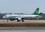 じーく。さんが、茨城空港で撮影した春秋航空 A320-214の航空フォト(写真)