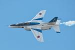 おぺちゃんさんが、小松空港で撮影した航空自衛隊 T-4の航空フォト(写真)