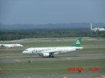 鬼の手さんが、新千歳空港で撮影した春秋航空 A320-214の航空フォト(写真)