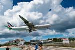 m-takagiさんが、プリンセス・ジュリアナ国際空港で撮影したエールフランス航空 A340-313Xの航空フォト(飛行機 写真・画像)