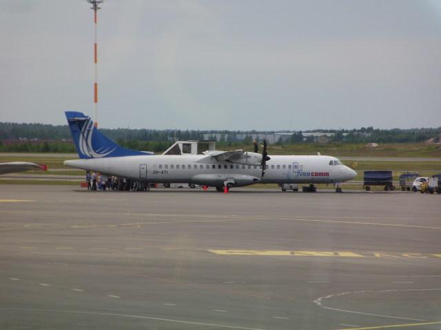 フィンコム航空 ATR 72 OH-ATI ...