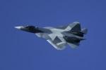 SHO@6さんが、ラメンスコエ空港で撮影したロシア空軍 Sukhoi T-50の航空フォト(写真)