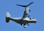じーく。さんが、厚木飛行場で撮影したアメリカ海兵隊 MV-22Bの航空フォト(飛行機 写真・画像)
