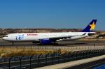 RUSSIANSKIさんが、マドリード・バラハス国際空港で撮影したエア・ヨーロッパ A330-343Xの航空フォト(飛行機 写真・画像)