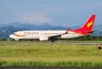 mojioさんが、静岡空港で撮影した雲南祥鵬航空 737-808の航空フォト(飛行機 写真・画像)