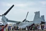 パンダさんが、三沢飛行場で撮影したアメリカ海兵隊 MV-22Bの航空フォト(写真)