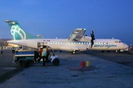 kinsanさんが、ヤンゴン国際空港で撮影したバガン航空 ATR-72-500 (ATR-72-212A)の航空フォト(飛行機 写真・画像)