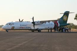 kinsanさんが、ニャウンウー空港で撮影したヤンゴン航空 ATR-72-212の航空フォト(飛行機 写真・画像)