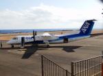 TUILANYAKSUさんが、三宅島空港で撮影したANAウイングス DHC-8-314Q Dash 8の航空フォト(写真)
