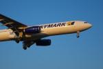 marupeyさんが、福岡空港で撮影したスカイマーク A330-343Eの航空フォト(飛行機 写真・画像)