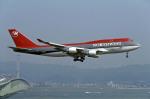 Gambardierさんが、関西国際空港で撮影したノースウエスト航空 747-451の航空フォト(写真)