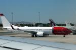 hamapiさんが、ラルナカ国際空港で撮影したノルウェー・エアシャトル・ロングホール 737-8JPの航空フォト(飛行機 写真・画像)