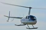 パンダさんが、東京ヘリポートで撮影したディーエイチシー R44 Raven IIの航空フォト(飛行機 写真・画像)