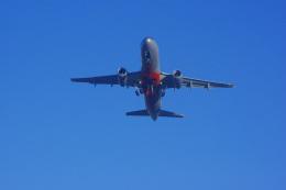 ぼのさんが、ゴールドコースト空港で撮影したジェットスター A320-232の航空フォト(飛行機 写真・画像)