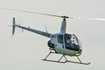 パンダさんが、東京ヘリポートで撮影した日本フライトセーフティ R22 Betaの航空フォト(飛行機 写真・画像)