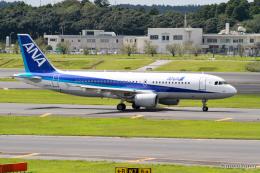 みなかもさんが、成田国際空港で撮影した全日空 A320-214の航空フォト(飛行機 写真・画像)