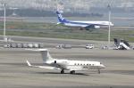 masa0420さんが、羽田空港で撮影したウガンダ政府 G-V-SP Gulfstream G550の航空フォト(写真)