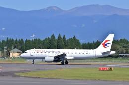 鹿児島のぽりっす♪さんが、鹿児島空港で撮影した中国東方航空 A320-214の航空フォト(飛行機 写真・画像)