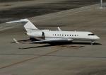 じーく。さんが、羽田空港で撮影したスカイサービス・ビジネス・アビエーション BD-700-1A11 Global 5000の航空フォト(写真)