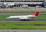 じーく。さんが、羽田空港で撮影したGOME Holdings G-V-SP Gulfstream G550の航空フォト(飛行機 写真・画像)