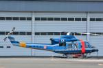 パンダさんが、東京ヘリポートで撮影した警視庁 412EPの航空フォト(写真)