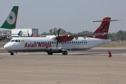 kinsanさんが、ヤンゴン国際空港で撮影したアジアン・ウィングス ATR-72-500 (ATR-72-212A)の航空フォト(飛行機 写真・画像)