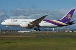 北の熊さんが、新千歳空港で撮影したタイ国際航空 787-8 Dreamlinerの航空フォト(飛行機 写真・画像)