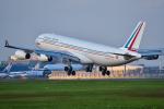 パンダさんが、成田国際空港で撮影したフランス空軍 A340-212の航空フォト(飛行機 写真・画像)