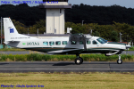 Chofu Spotter Ariaさんが、調布飛行場で撮影したアジア航測 208B Grand Caravanの航空フォト(飛行機 写真・画像)