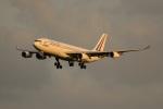SHO@6さんが、成田国際空港で撮影したフランス空軍 A340-212の航空フォト(写真)