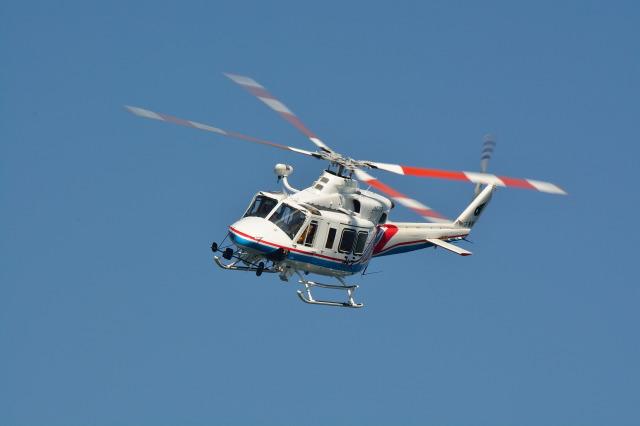 三重県防災航空隊 Bell 412 JA6703 津市伊勢湾ヘリポート  航空フォト | by 蒼い鳩さん
