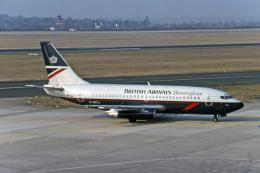 Gambardierさんが、デュッセルドルフ国際空港で撮影したブリティッシュ・エアウェイズ 737-236/Advの航空フォト(飛行機 写真・画像)