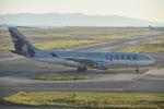 HS-TUAさんが、関西国際空港で撮影したカタール航空 A330-202の航空フォト(写真)