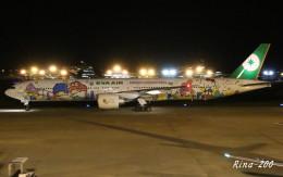 RINA-281さんが、小松空港で撮影したエバー航空 777-36N/ERの航空フォト(飛行機 写真・画像)