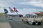 T.Sazenさんが、ダニエル・K・イノウエ国際空港で撮影したアラスカ航空 737-990/ERの航空フォト(飛行機 写真・画像)