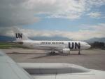 DC-9さんが、トリブバン国際空港で撮影した国際連合 A310-222の航空フォト(写真)