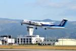 mojioさんが、熊本空港で撮影したANAウイングス DHC-8-402Q Dash 8の航空フォト(飛行機 写真・画像)