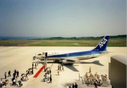 kumagorouさんが、鳥取空港で撮影した全日空 737-281/Advの航空フォト(飛行機 写真・画像)