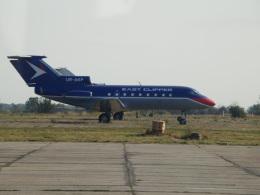 TUILANYAKSUさんが、ザポリージャ国際空港で撮影したウクライナ企業所有 Yak-40の航空フォト(飛行機 写真・画像)
