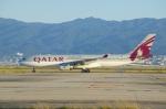 なべさんが、関西国際空港で撮影したカタール航空 A330-202の航空フォト(写真)