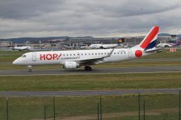 さんみさんが、フランクフルト国際空港で撮影したエールフランス・オップ! ERJ-190-100 LR (ERJ-190LR)の航空フォト(飛行機 写真・画像)