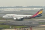 tsubasa0624さんが、成田国際空港で撮影したアシアナ航空 747-48EMの航空フォト(写真)