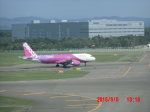 鬼の手さんが、新千歳空港で撮影したピーチ A320-214の航空フォト(写真)