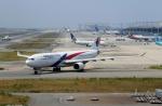 ハピネスさんが、関西国際空港で撮影したマレーシア航空 A330-323Xの航空フォト(飛行機 写真・画像)